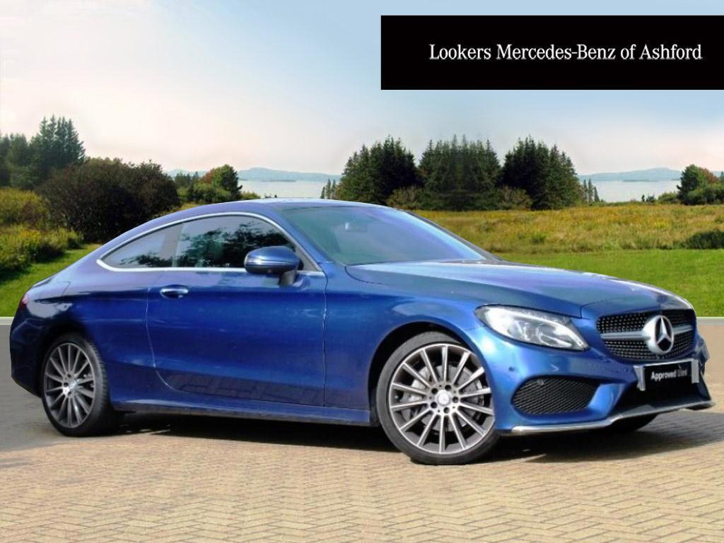 mercedes benz c class c 220 d amg line premium blue 2016 03 12 in ashford kent gumtree. Black Bedroom Furniture Sets. Home Design Ideas