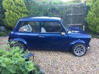 classsic blue mini 1275cc