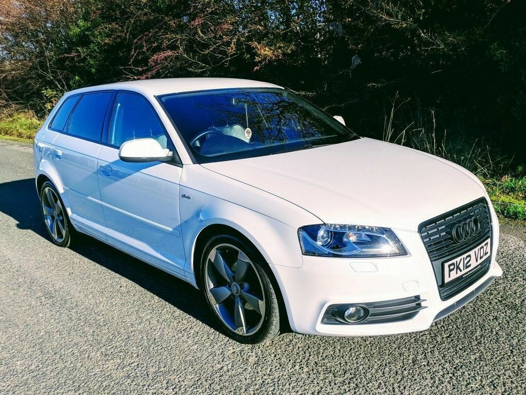 2012 Audi A3 2.0 Tdi S Line Black Edition Sportback ****OWN THIS CAR TODAY FOR £59 A WEEK*****