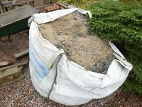 Jumbo sized bag of sub base/bottoming - ideal for laying a patio