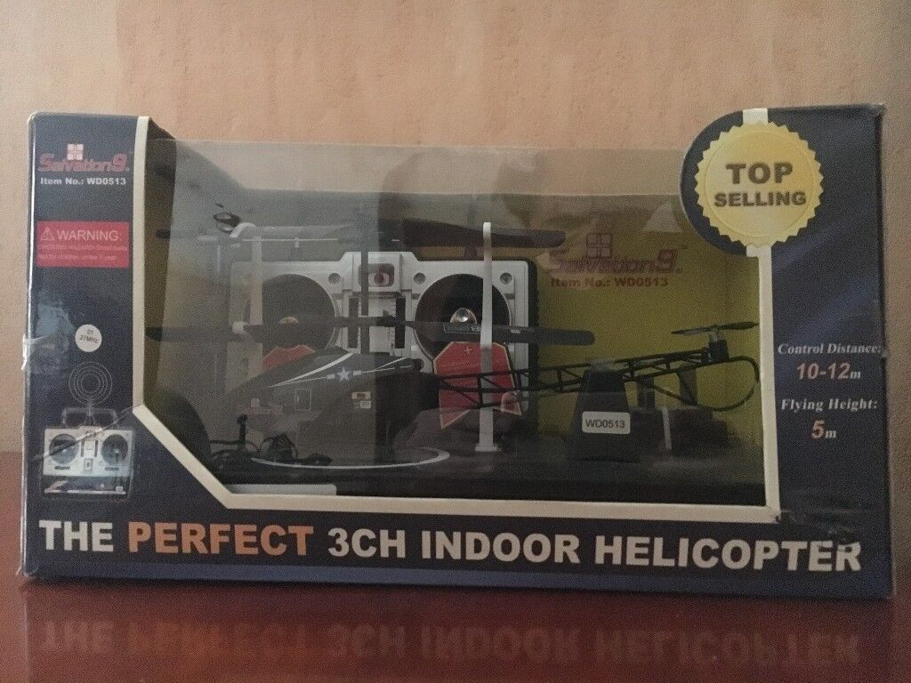 PRICE LOWERED: R/C Helicopter Salvation 9