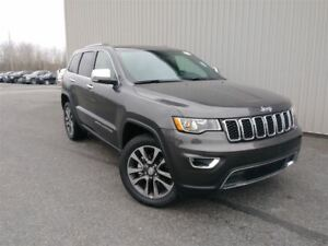2018 Jeep Grand Cherokee Limited +Hitch, Toit, Cuir+