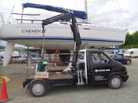 Vw Transporter,pickup,hiab,crane,transit,truck,Business for sale,hire,T4,small crane,