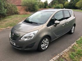 2011 Vauxhall Meriva AUTOMATIC, full history, low mileage, great specification, ideal family MPV