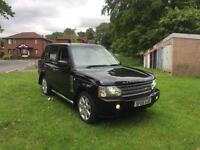 pristine rangerover colour black diesel with tow bar vogue