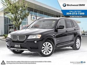 2013 BMW X3 28i Premium Package