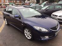 2009/09 MAZDA 6 2.2 TD SL ESTATE FULL HEATED + ELECTRIC LEATHER, BOSE SOUND SYSTEM, PARKING SENSORS