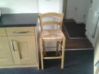 Wooden kitchen Bar Stool nearly new