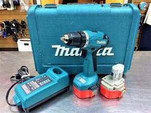 Perceuse sans-fil MAKITA 14.4V 2 batteries  #F022883
