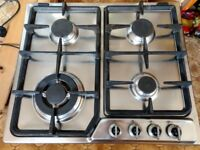 Delonghi stainless steel gas hob