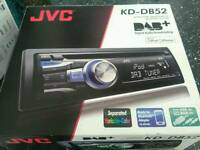 Jvc car stereo with usb Bluetooth and dab