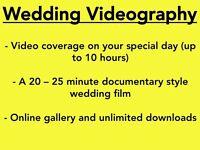 £300 Wedding Videography || *Until April 2017*