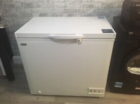 Candy chest freezer with lock