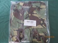 EXTRA LARGE FORCES CAMOUFLAGE JUNGLE SHIRTS BRAND NEW IN PACKET