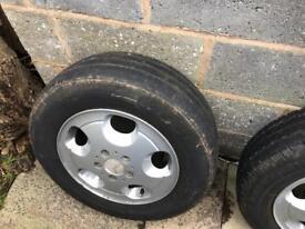 Mercedes Vito alloy wheels