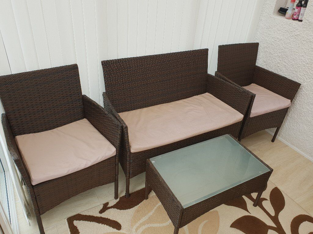 For sale Rattan Garden Conservatory Furniture | in Pollok ...