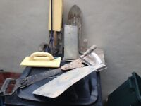 selection of plastering tools. view my other adds all sorts on.