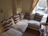 Right hand corner sofa originally from Harvey's