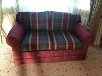 Three piece suite three seat sofa, two seat sofa and armchair