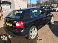 Audi A3 1.8T V5 Auto DSG box low miles 2001