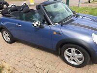 Convertible MINI ONE 1.6, Manual, Petrol, 12 months MOT, Very Good Car