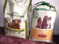 Harringtons Turkey & Veg / James Wellbeloved Adult Dog Turkey & Rice