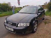 2003 Audi A4 Estate, Diesel, AUTOMATIC, long MOT.