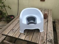 Toddler throne style potty.