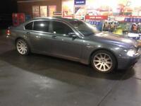 2004 04 reg BMW 735i Grey Top Spec Automatic