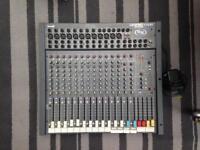 Soundcraft Spirit Folio SX sound desk - mixer