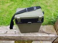 Small compact Fishing seat box