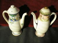 Pair Coffee Pots...Royal Doulton