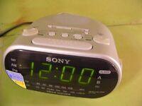 Sony radio alarm clocks 2 available, dream machine and one other £8 each