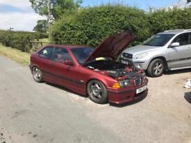 BMW e36 compact 2.5 drift