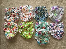 Complete milovia bundle re-usable nappies