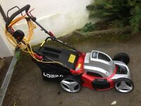 Cobra electric lawn mower only used once as new