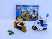 Lego Police Set With Instructions - 100% Complete - Christmas Stocking Filler