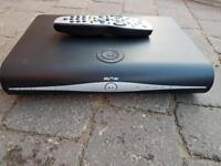 Sky + plus HD box and remote control