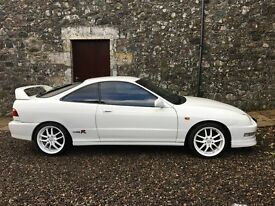 1999 Honda Integra Type R DC2 UK car with Full Service History and original wheels incld