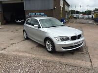 2008 BMW 118 2.0 SE 3DR 6 SPEED STOP/START, ONLY 87000 MILES WITH FULL SERVICE HISTORY,STUNNING CAR