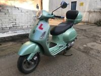 PIAGGIO VESPA GT125cc GREEN 2004 low mileage !!!