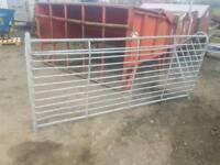 8ft hay feeder rack farm livestock tractor