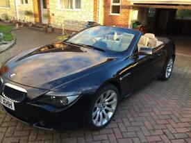 2007 BMW 630i Convertible Sports Car