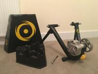 CycleOps Fluid 2 Turbo Trainer + Climbing Block - Pristine Condition (boxed like new)