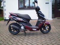 yamaha jog cs50 scooter 2012