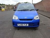 2005 DAIHATSU CHARADE 1.0 PETROL,1 0WNER FROM NEW,LOW INSURANCE,2 KEYS,FULL YEAR MOT,HPI CLEAR