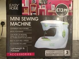 Brand new mini sewing machine