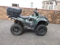 2011 - TGB Blade 550 se road legal quad for sale.