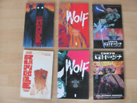 Tokyo Ghost Wolf Rumble graphic novels for sale Image comics grt condition