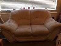 2x Two Seat Sofas